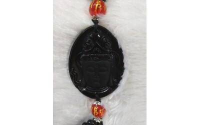 HANGING BUDDHAFACE - BLACK